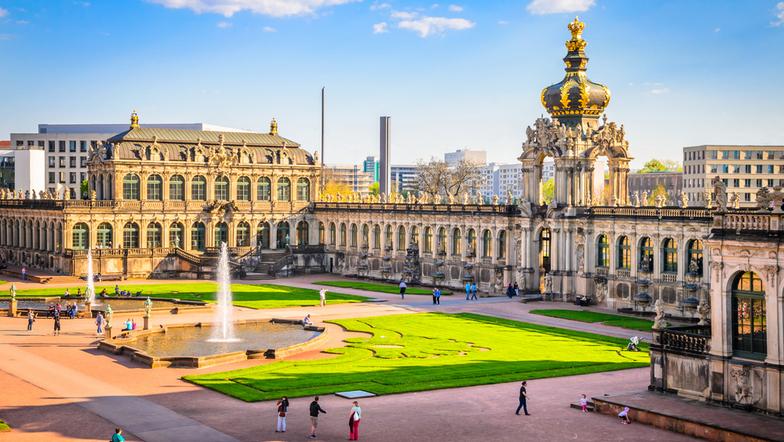 Wir besuchen Dresden