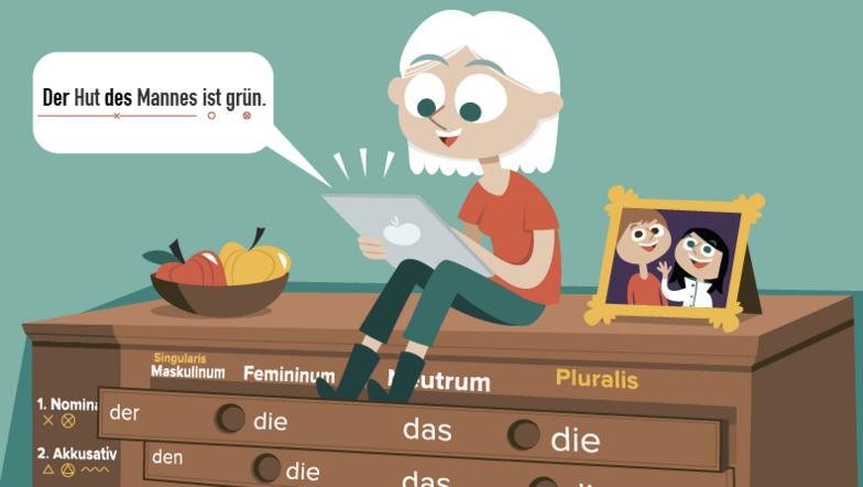 Om grammatikken
