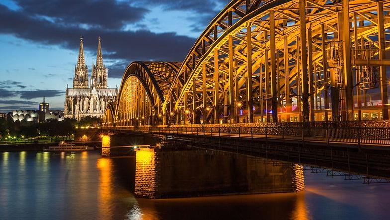Wir besuchen Köln