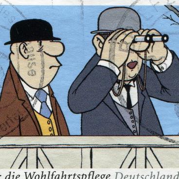 Die Geschichte der Karikaturen und Comics