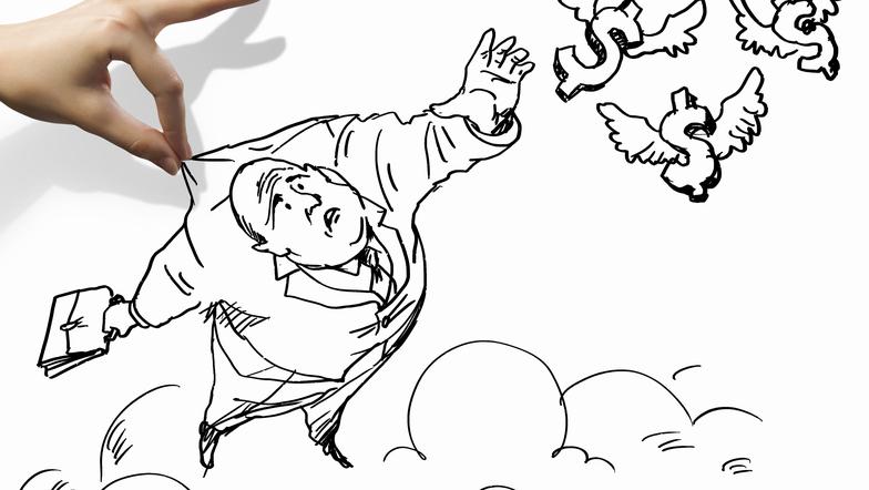 Karikaturen und Comics