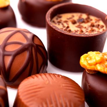Jesper im Schokoladengeschäft